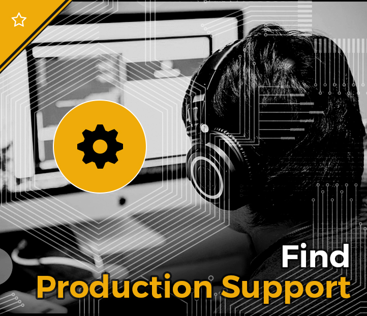 Click to search for production support