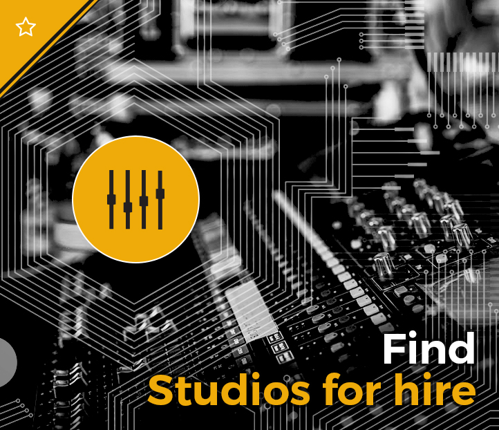Click to search for studios for hire
