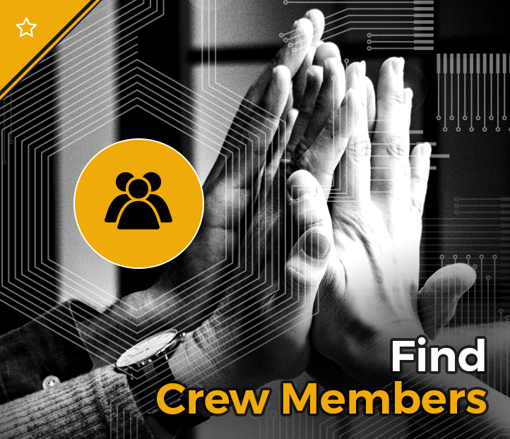Click to search for crew members